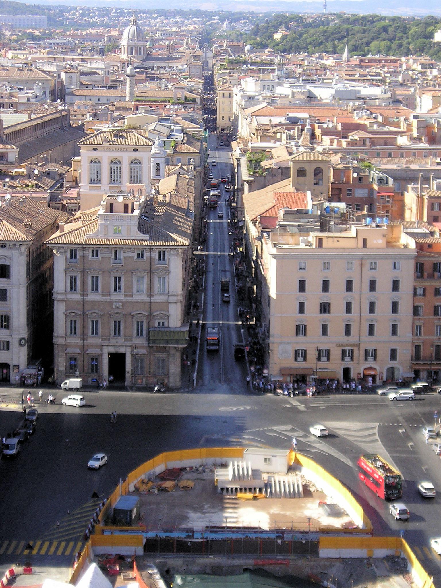 File via del wikipedia for Corso grafica roma