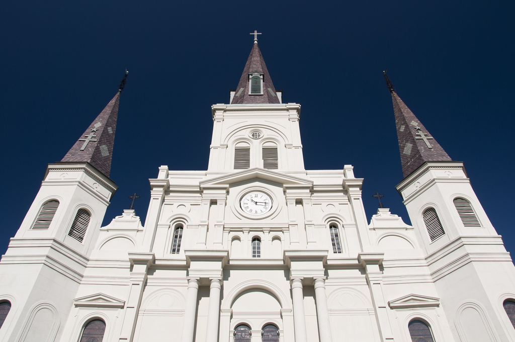 The history of st louis cathedral