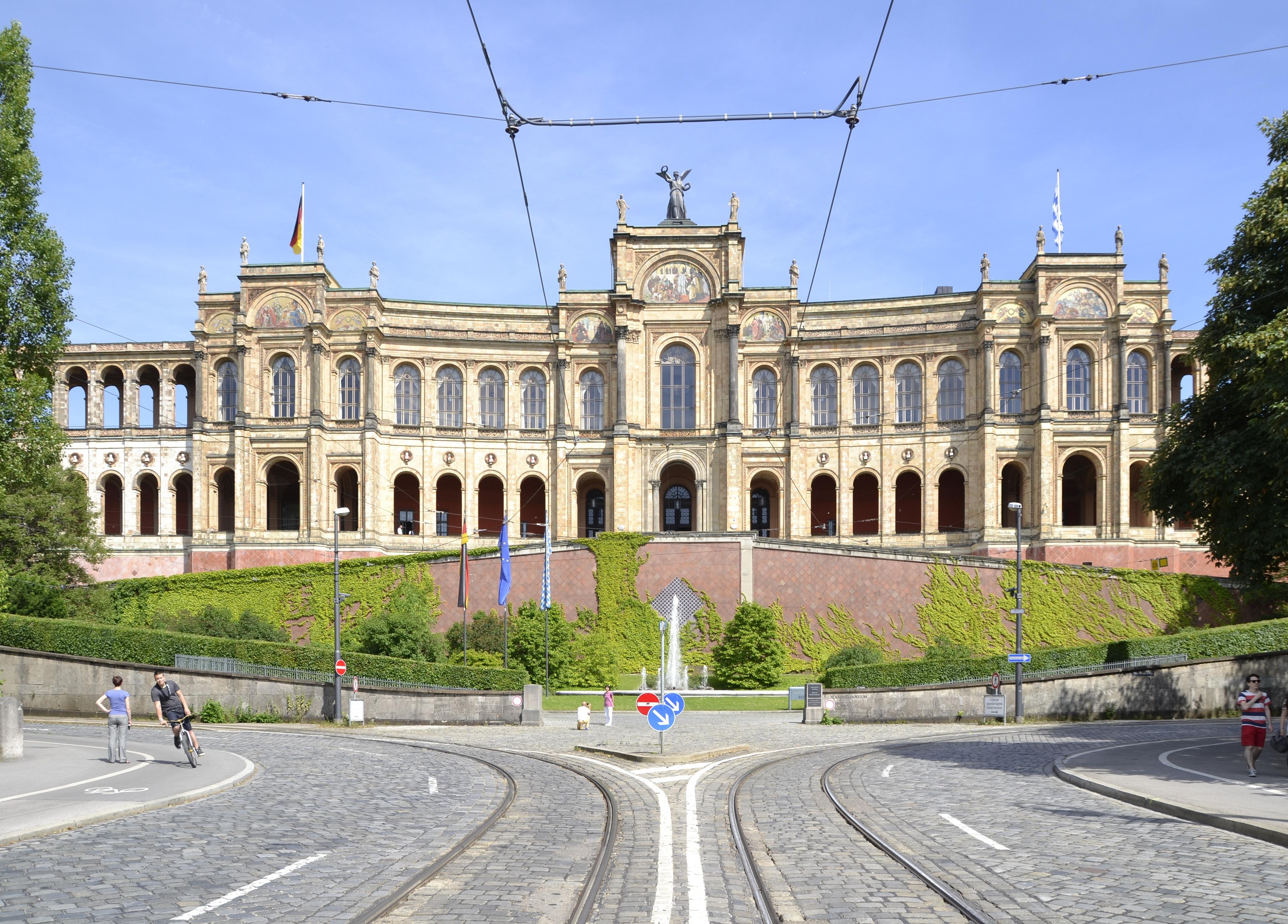 Maximilianeum in Munich struck me 9