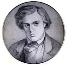 Thomas Woolner by Dante Gabriel Rossetti.