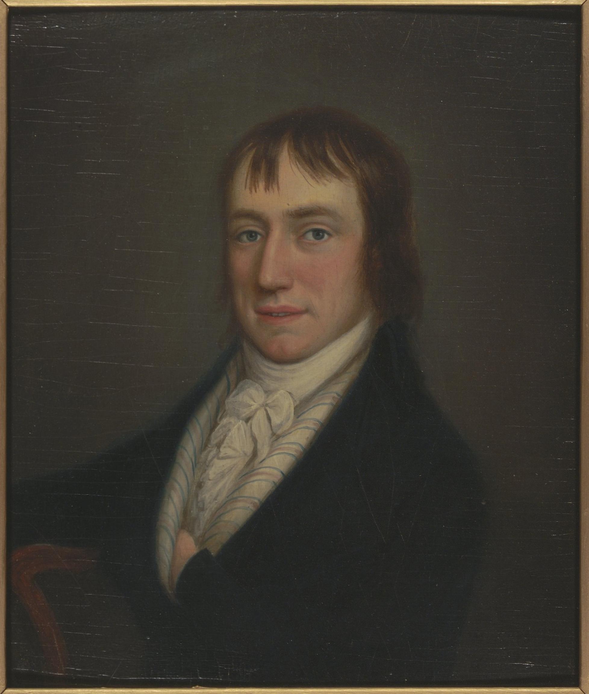 Portrait of William Wordsworth, by William Shu...
