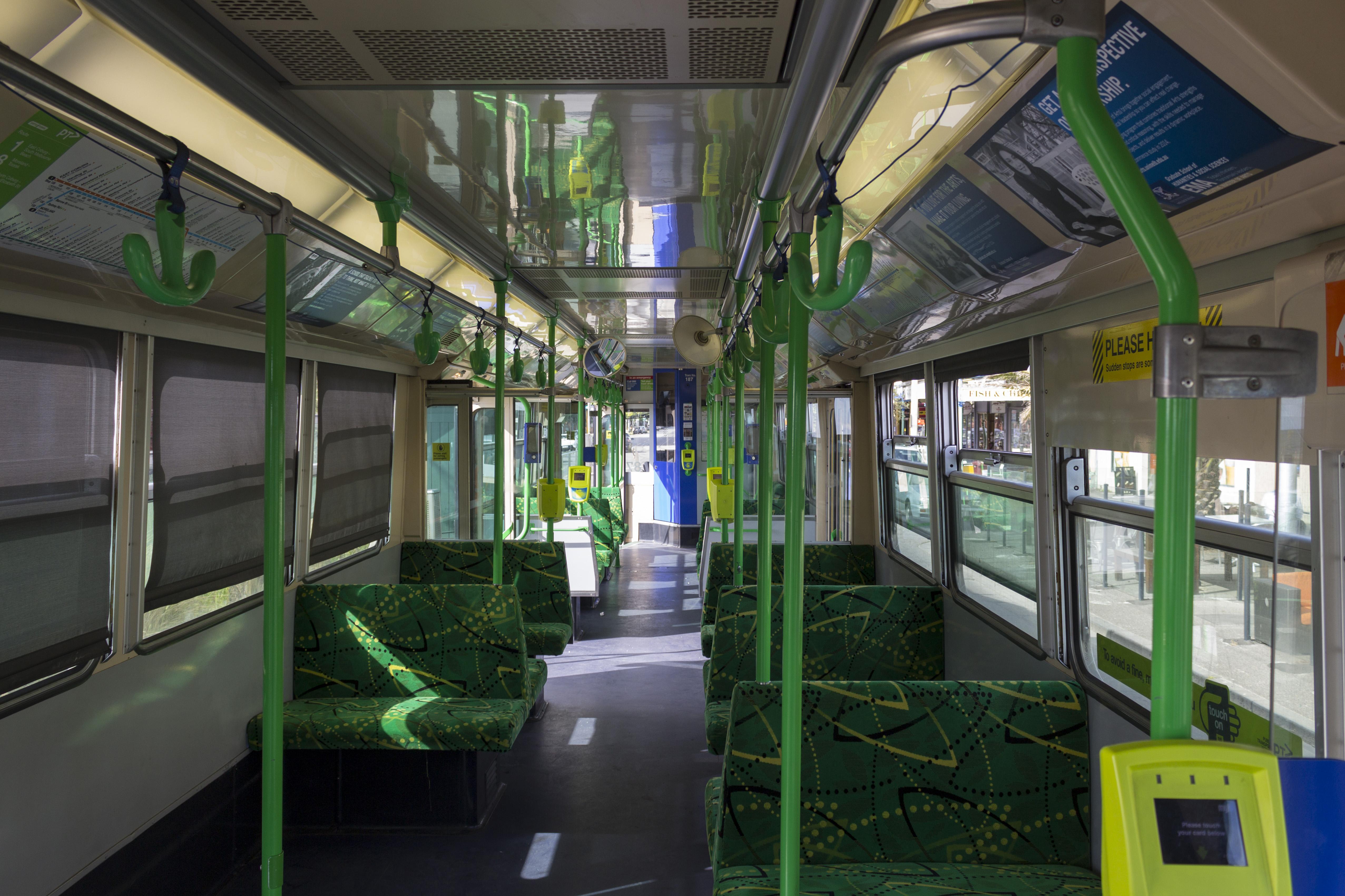 FileZ3 Class Melbourne Tram Interior 2013