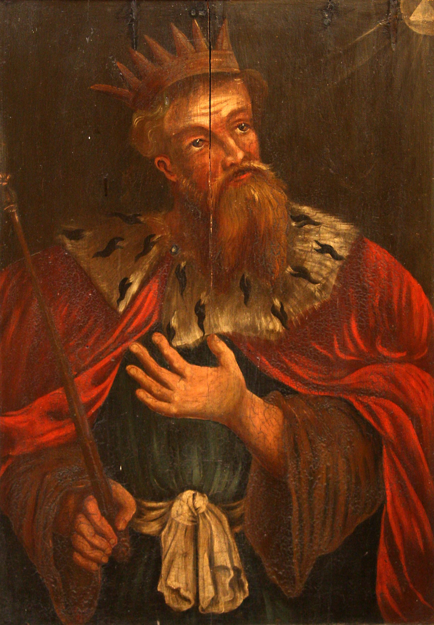 Unknown 17th century artist, King Hezekiah