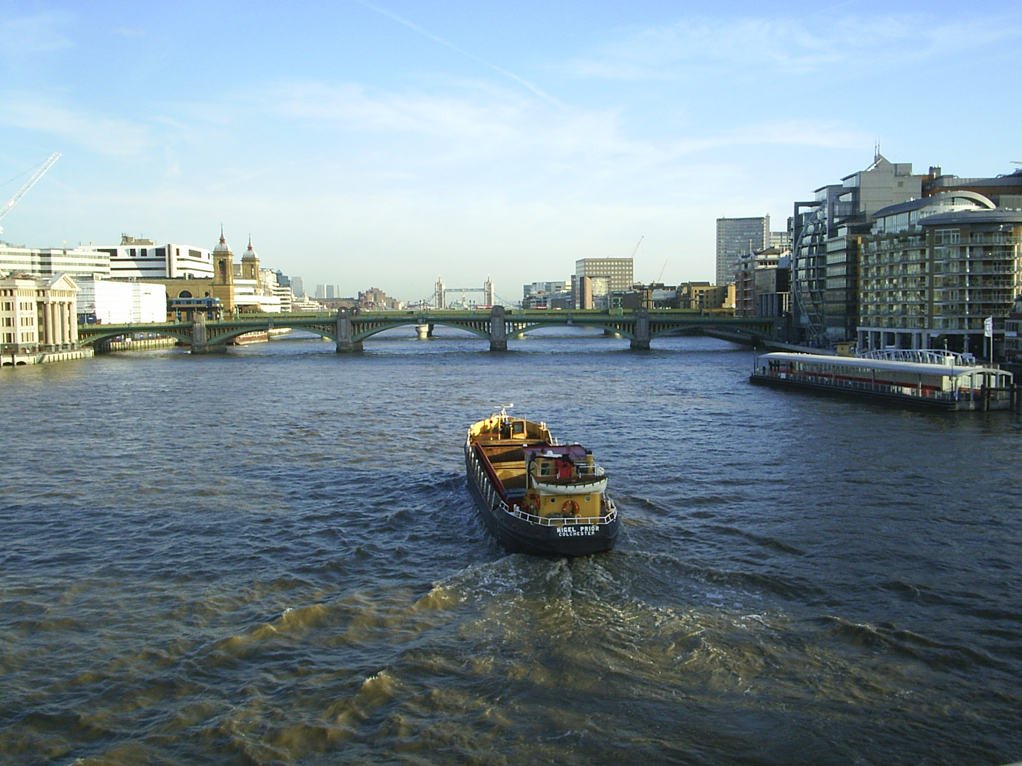 the river thames There are several bird species that are found in river thames, including the mute swan, the canada goose, the mallard duck, the greylag goose, the great crested grebe.