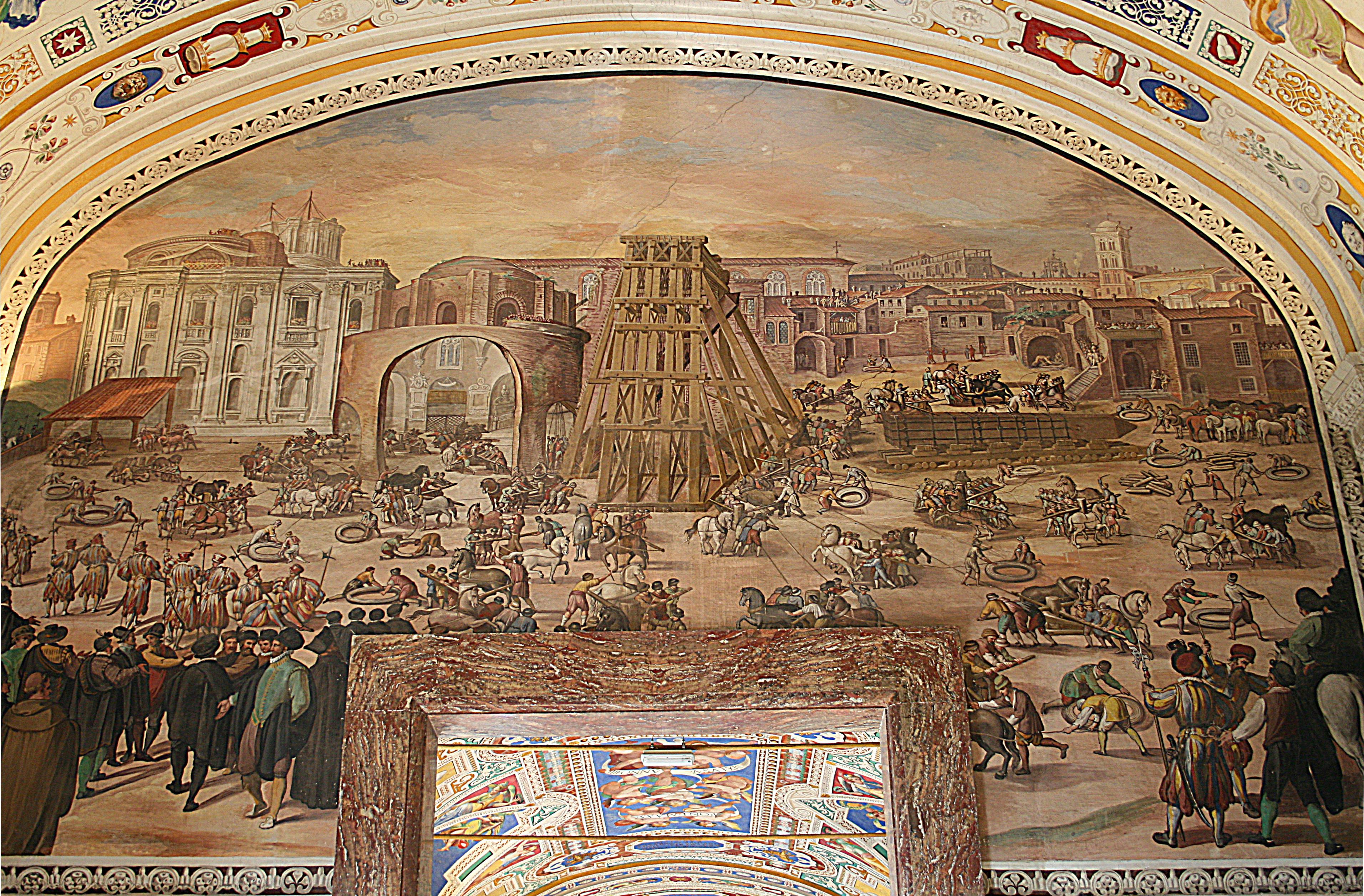 Vatican construction