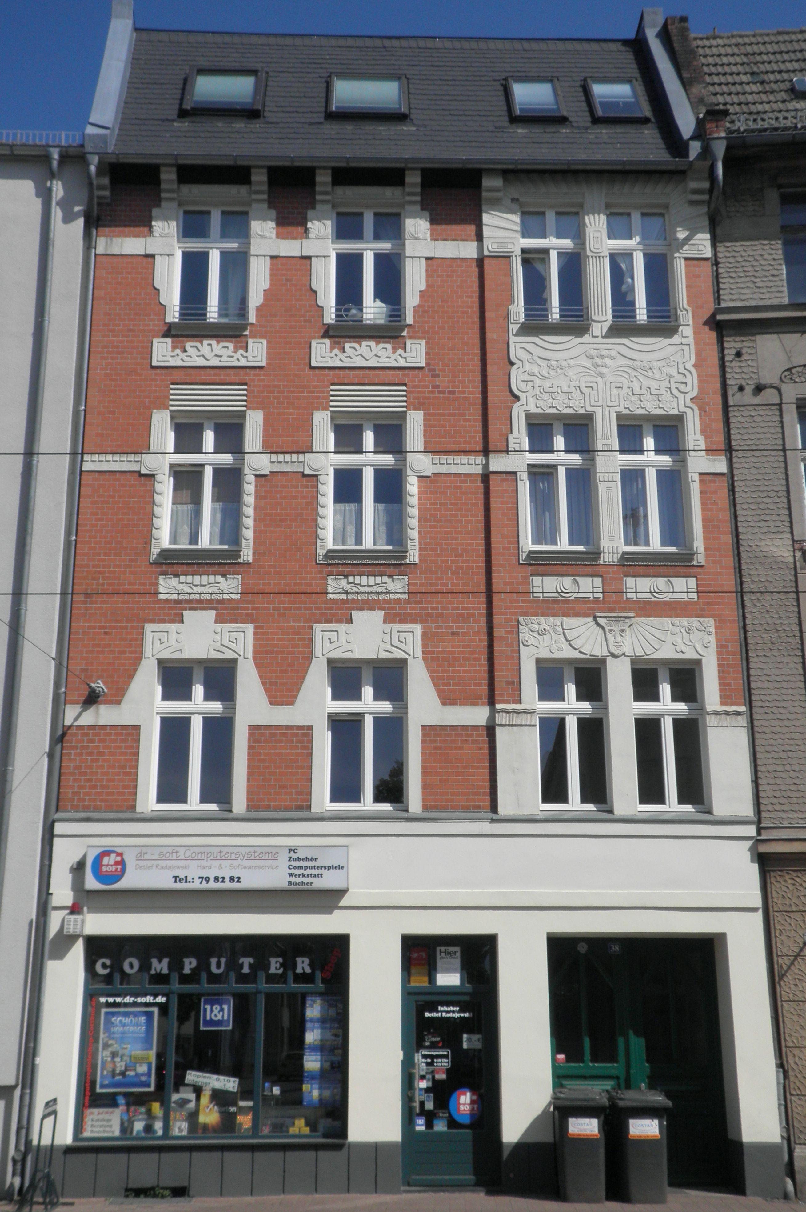 Friedrich Ebert Straße : file 109 friedrich ebert strasse 38 jpg wikimedia commons ~ A.2002-acura-tl-radio.info Haus und Dekorationen