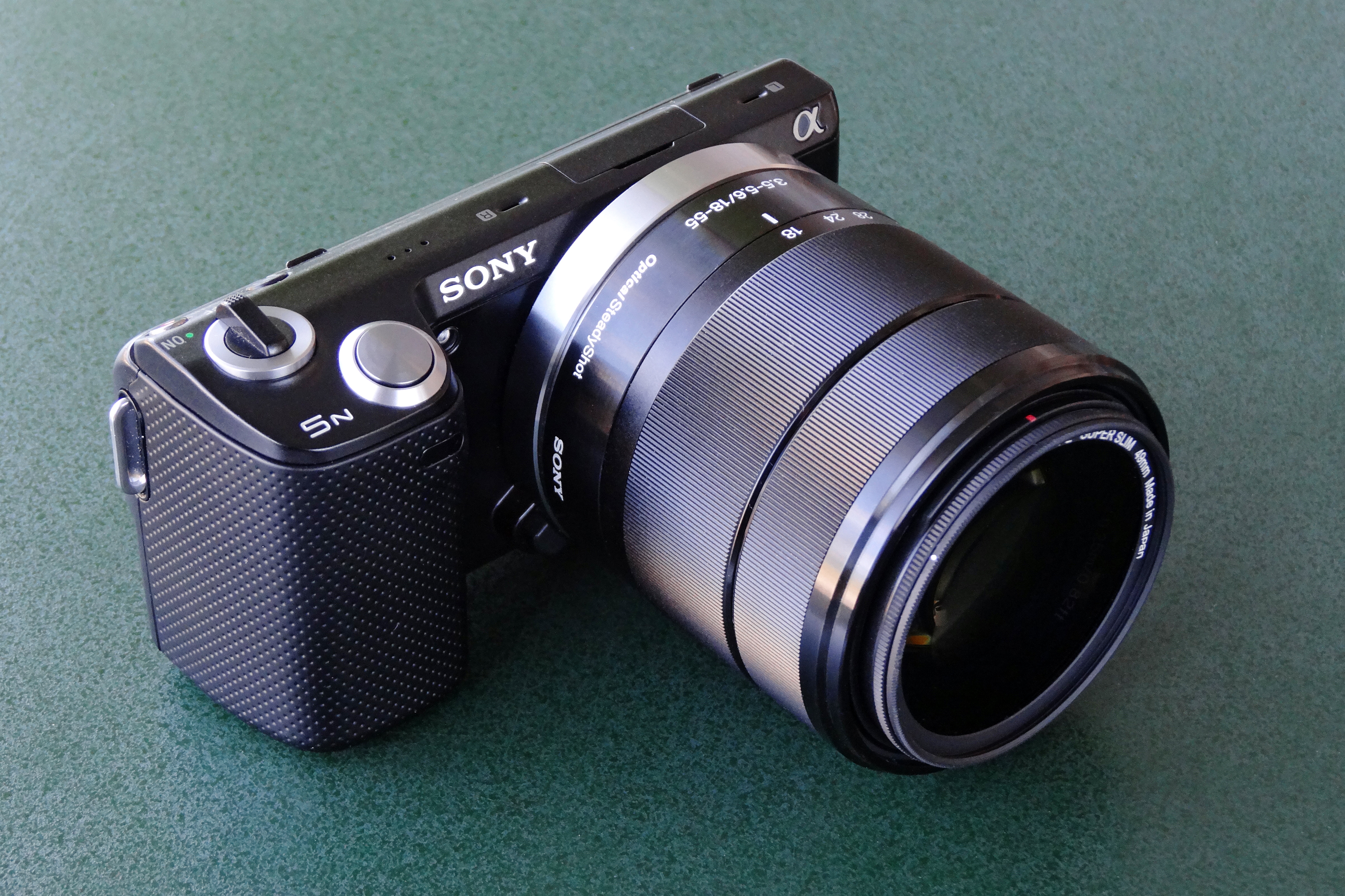 Sony NEX-5R Digital Camera SEL1855 Lens Drivers Update