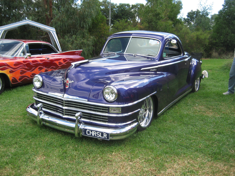 File 1946 Chrysler Newyorker Coupe Jpg Wikimedia Commons