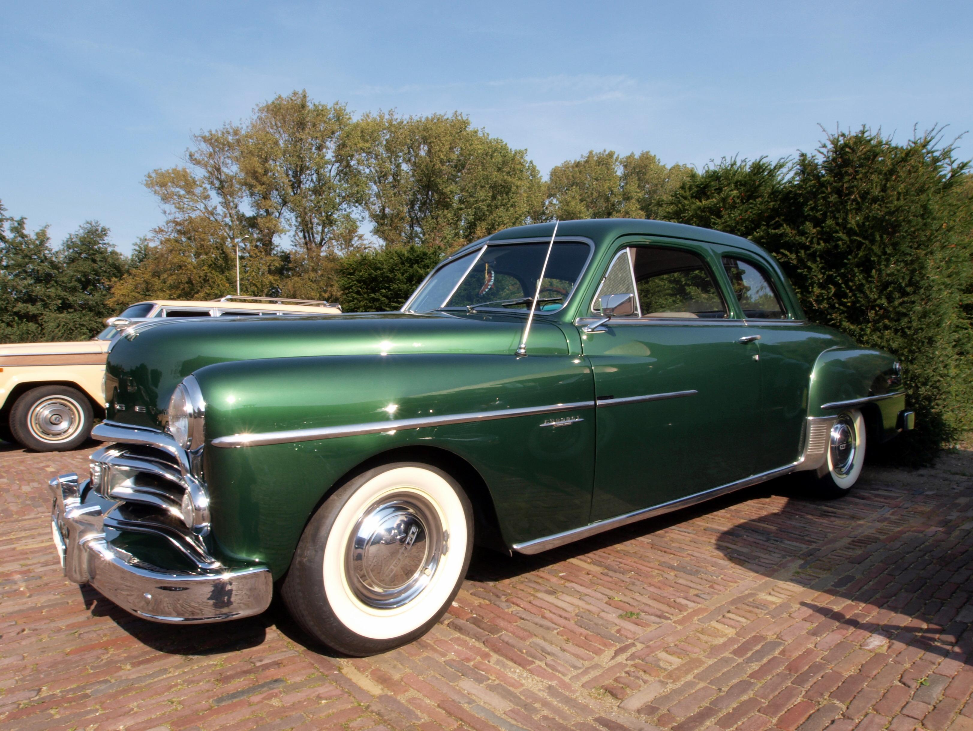 Pin dodge 1950 coronet 4door sedan the history of cars for 1950 dodge coronet 2 door