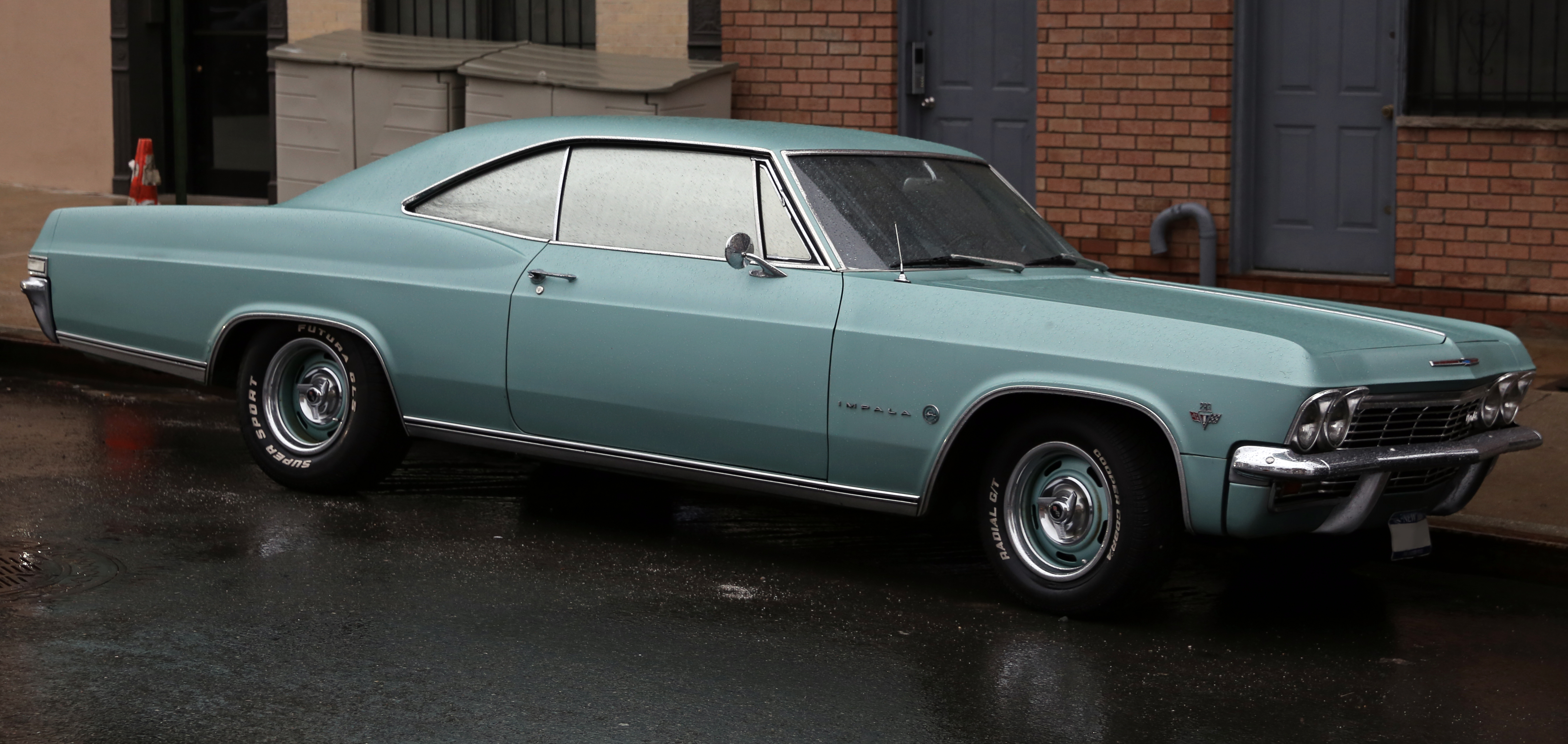 File 1965 Chevrolet Impala Sport Coupe 283 Front Right Jpg