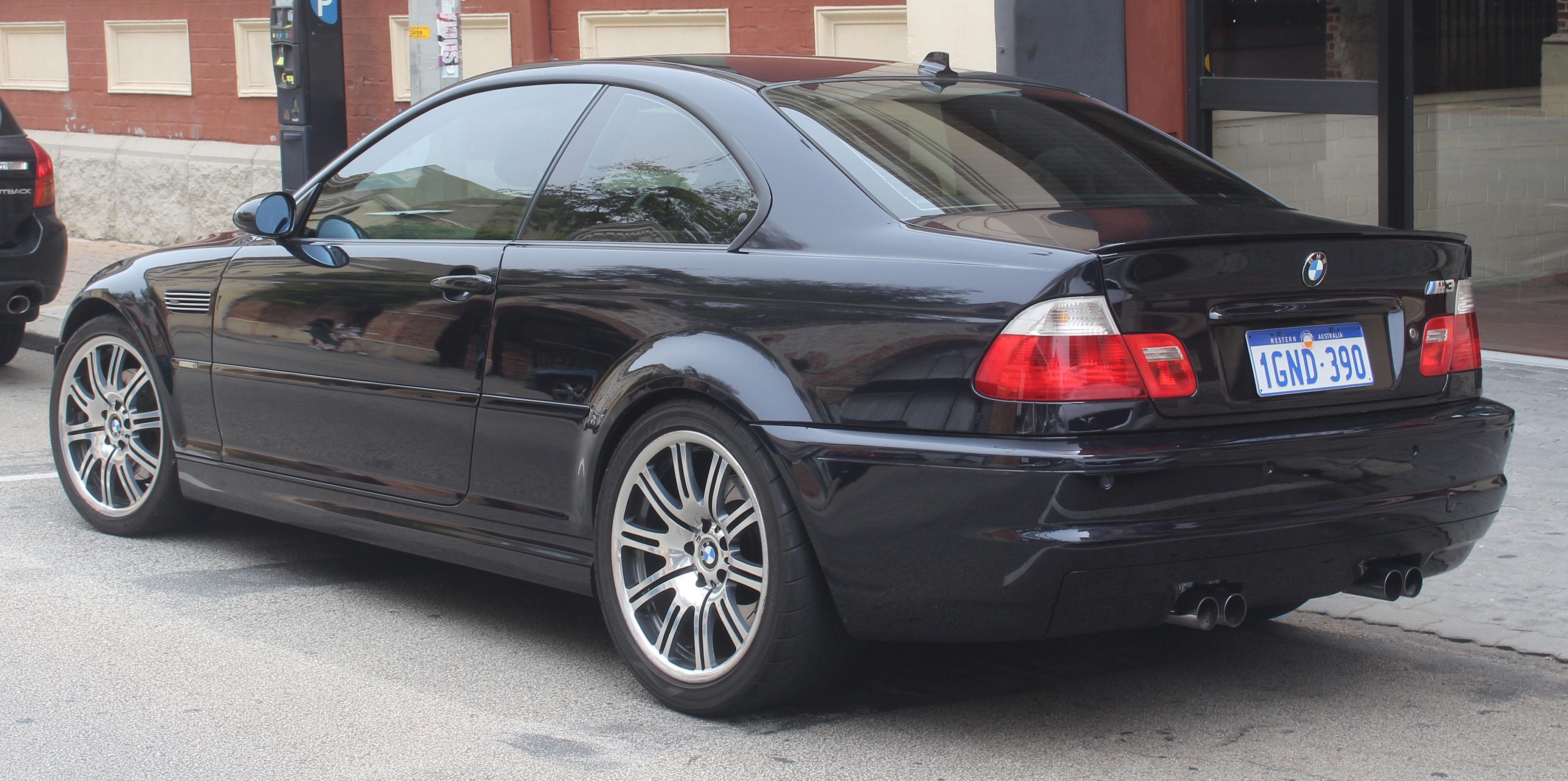 File 2001 2006 Bmw M3 E46 Coupe 2018 11 02 02 Jpg Wikimedia