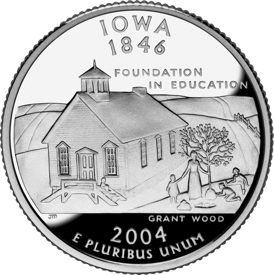 Iowa's state quarter