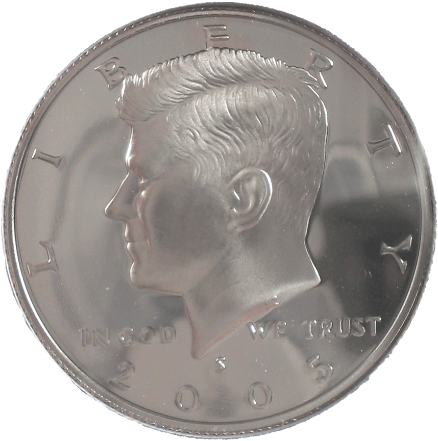 File:2005 proof Kennedy half dollar.png - Wikimedia Commons