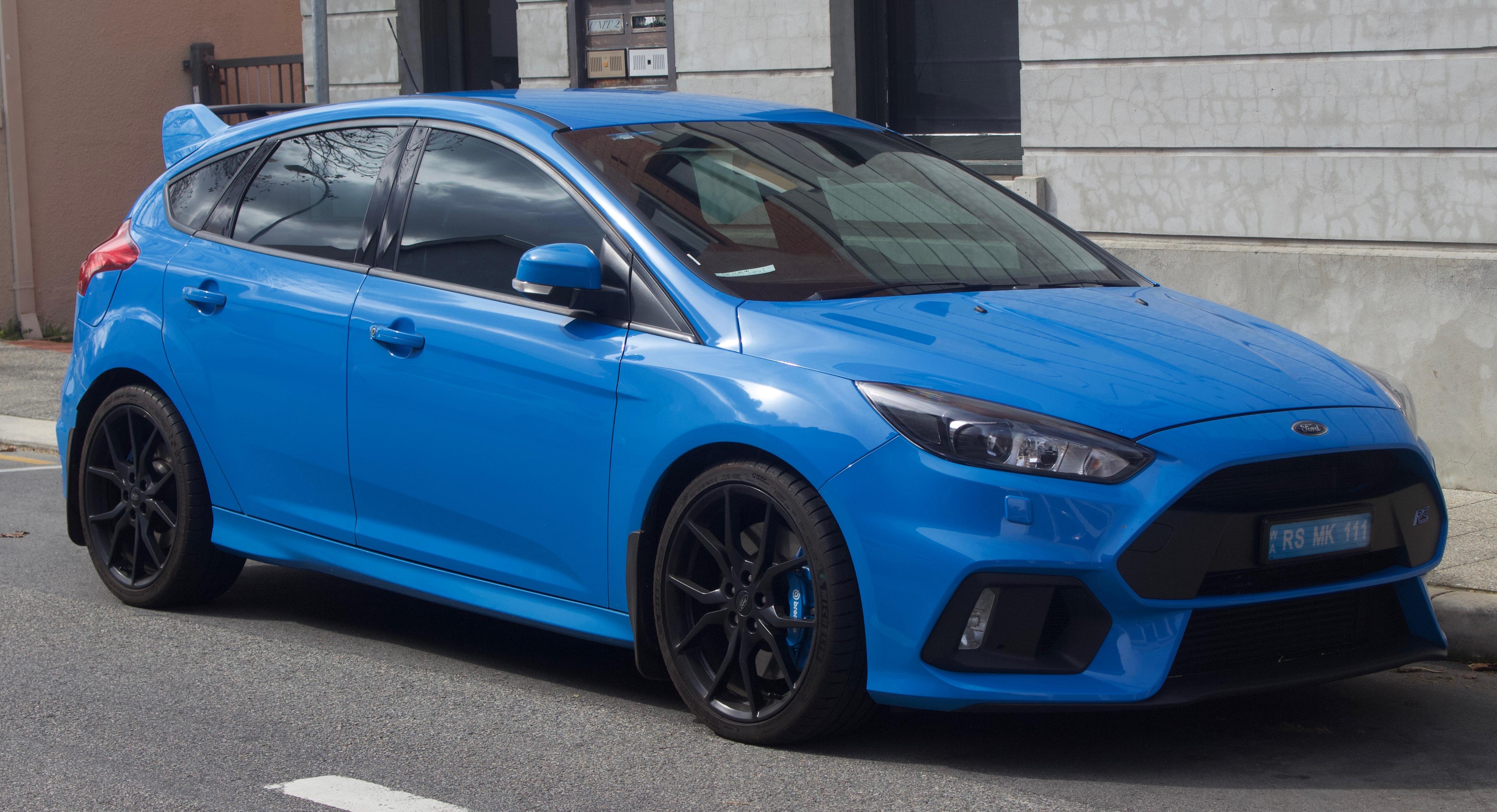 File:2017 Ford Focus (LZ) RS hatchback (2018-08-31) 01 jpg