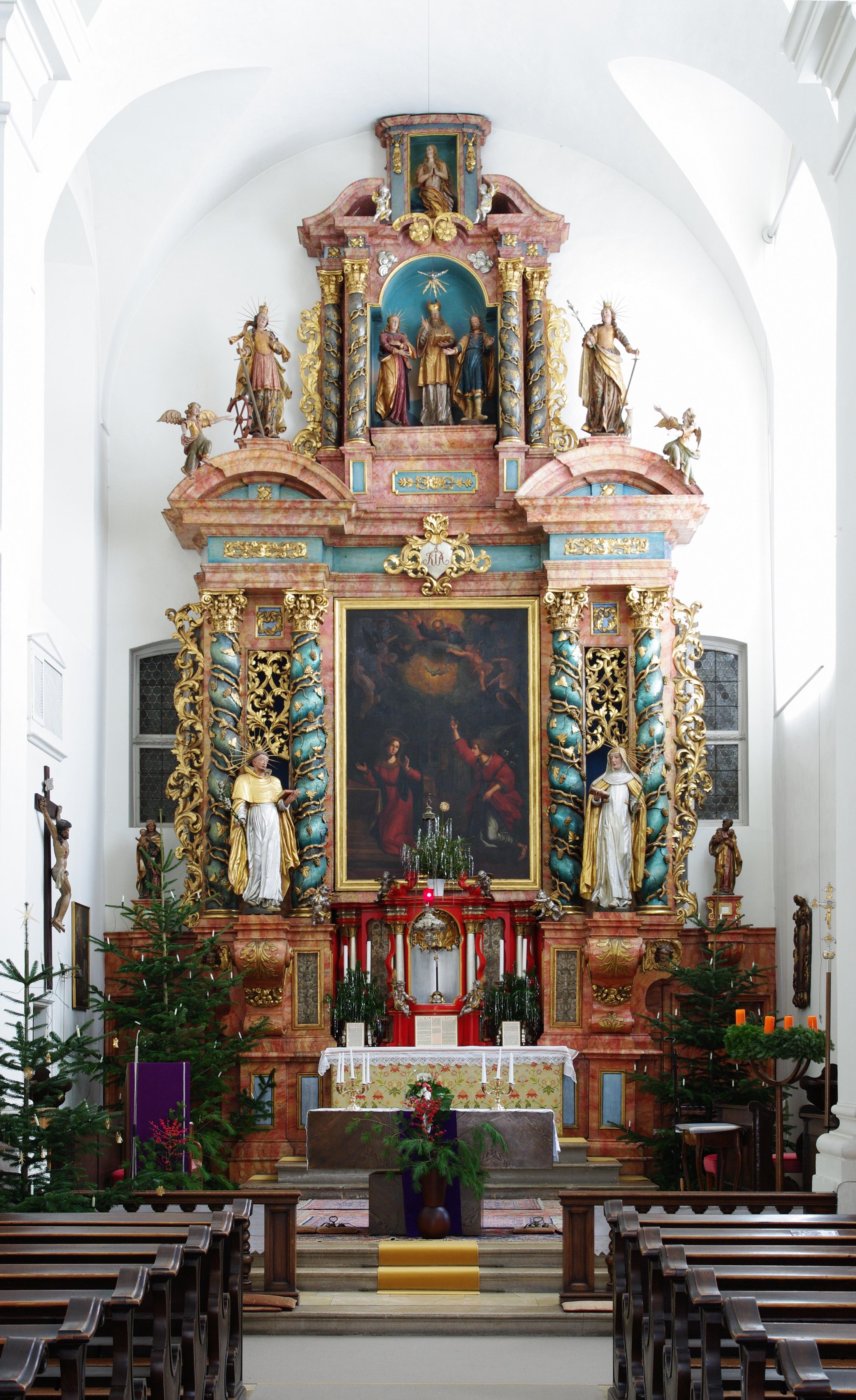 Innenraum Adelhauser Kirche