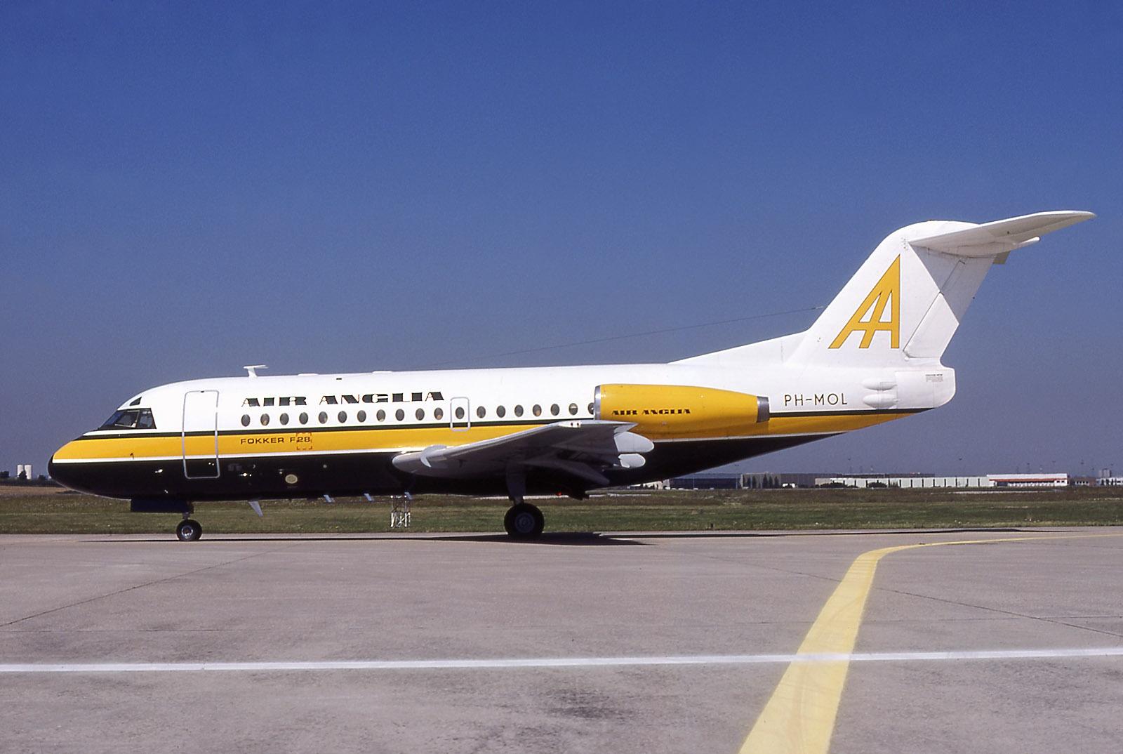 Air Anglia F28