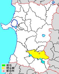 Hiraka District, Akita