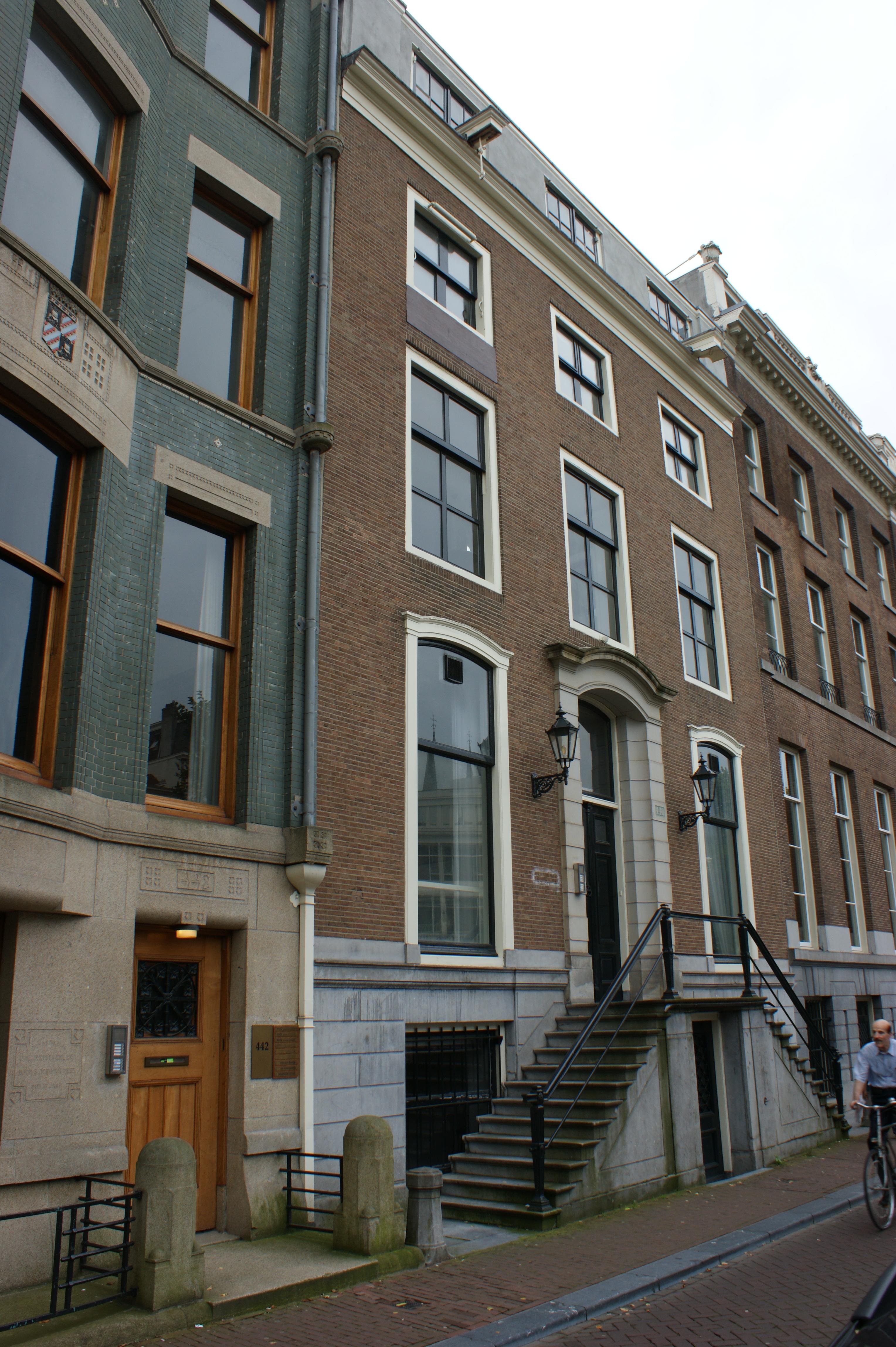 Dubbel huis met gevel van 3 vensterassen onder rechte for Lijst inrichting huis
