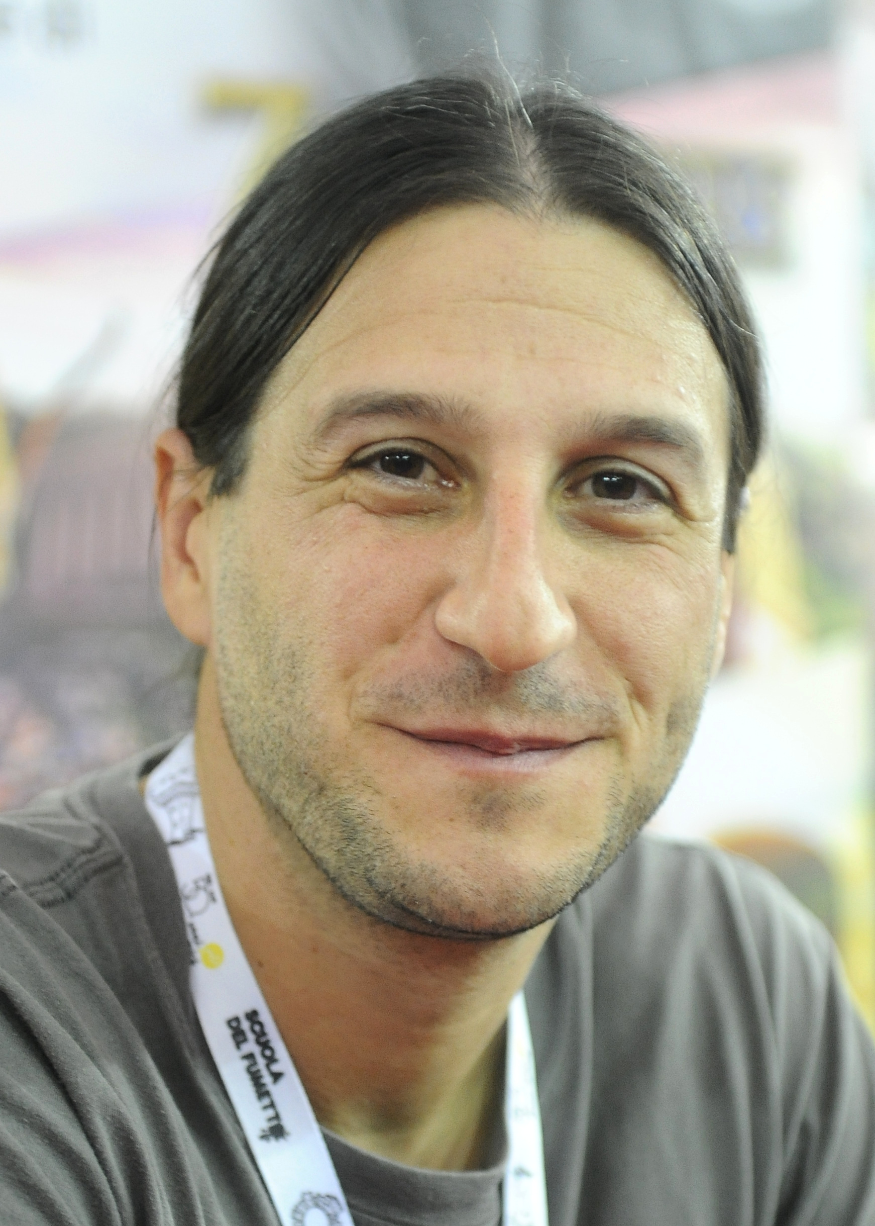 Bauza at the [[Lucca Comics & Games]] convention in 2016.