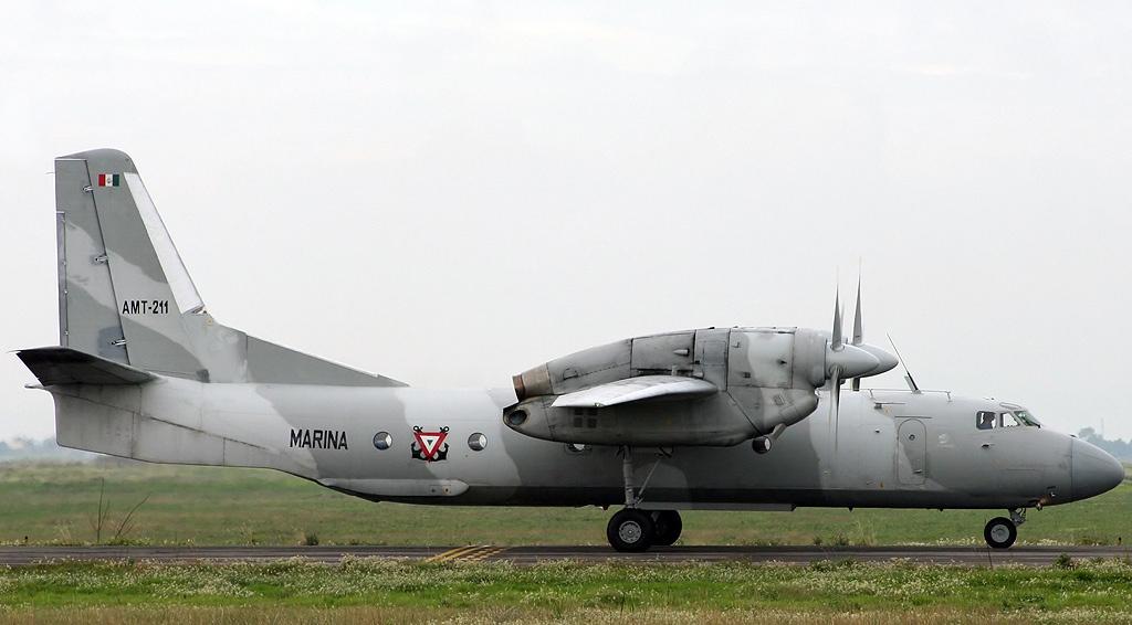 Poderío Aeronaval de la Semar (inicios del Siglo XXI) Antonov_An-32,_Mexico_-_Navy_JP6674583