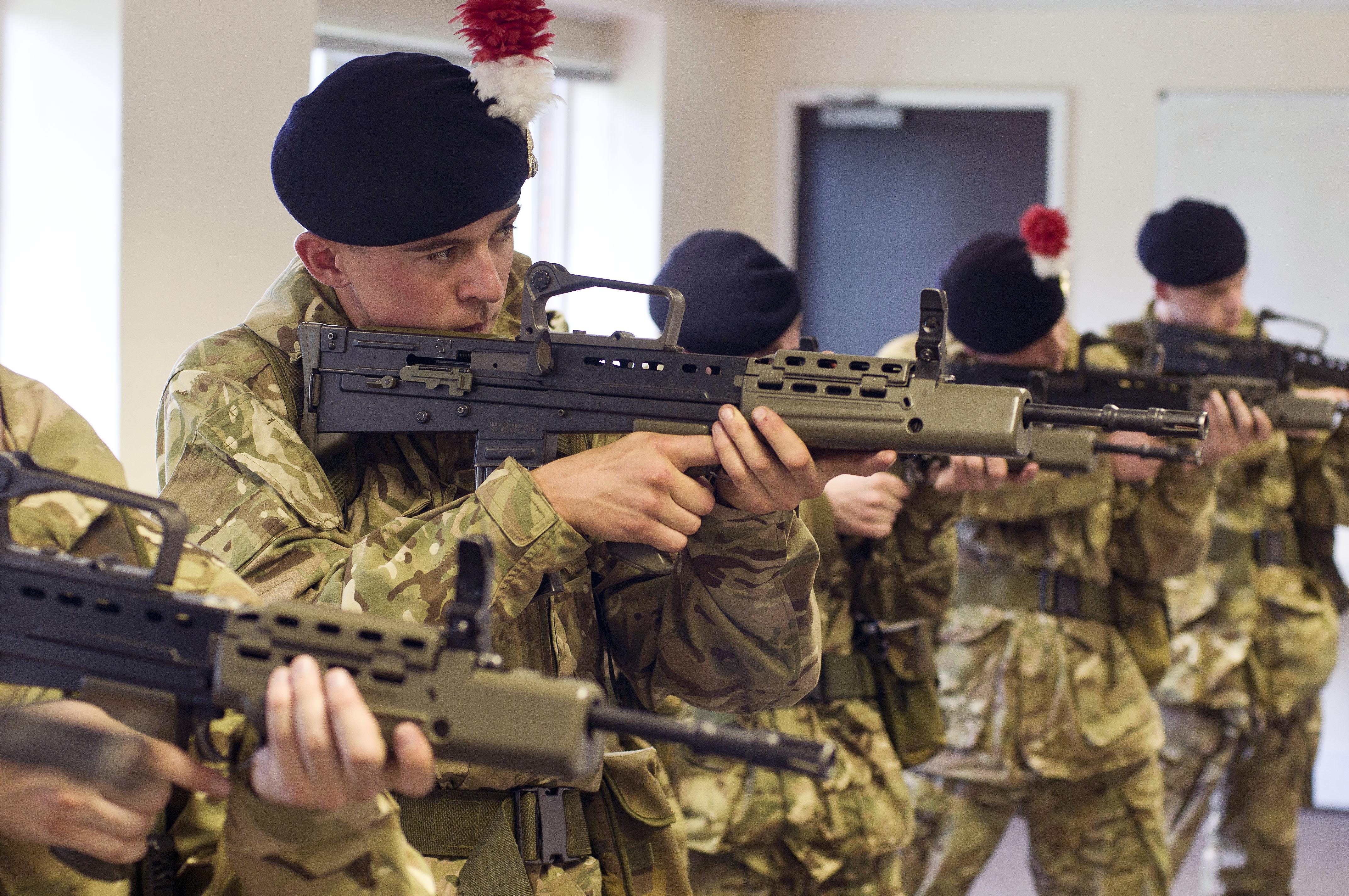 oshtemo army reserve training