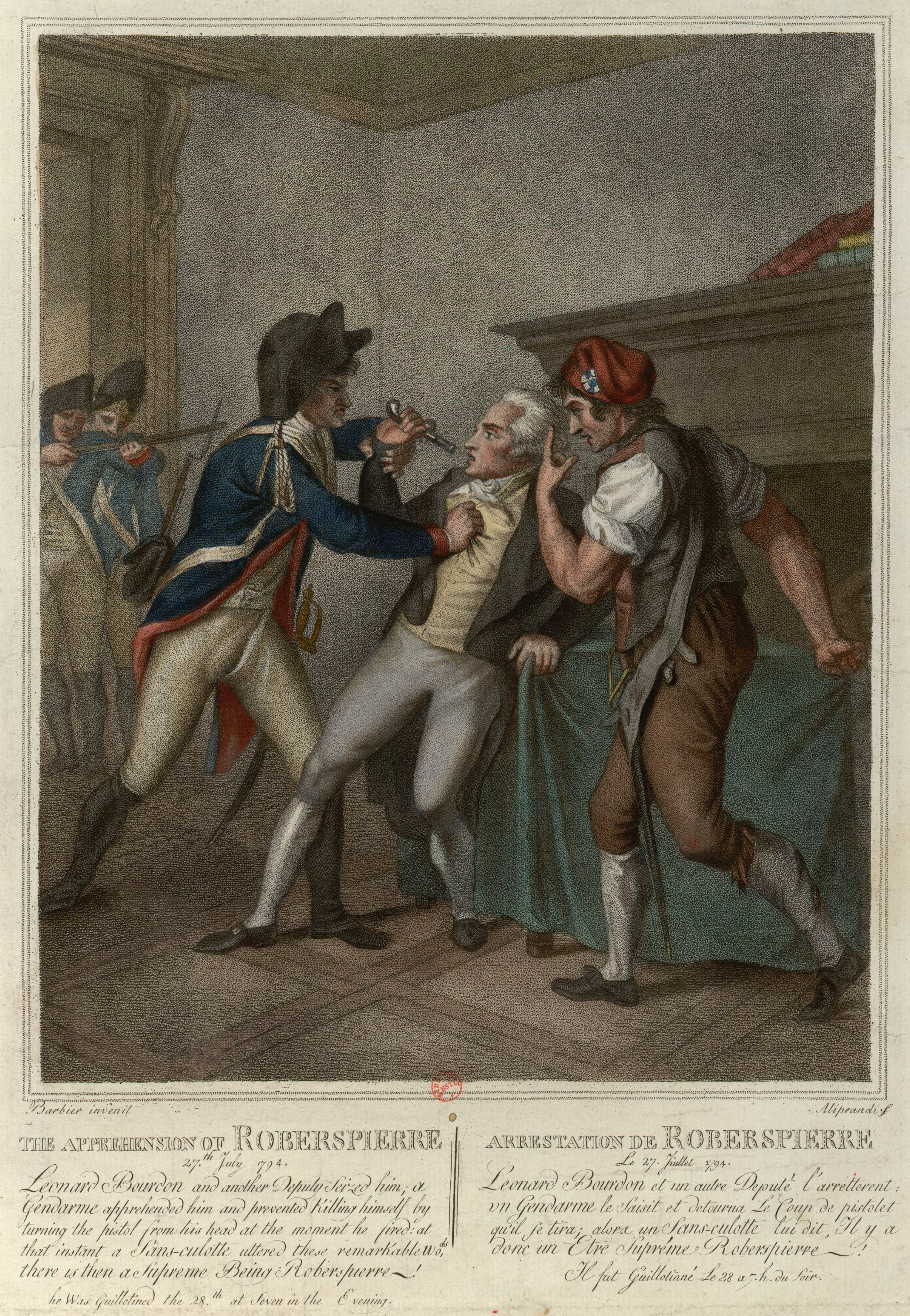 Fichier:Arrestation de Robespierre.jpg