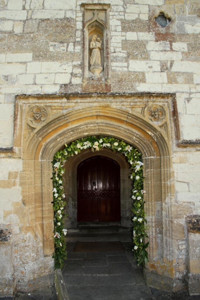 wedding flower garlands