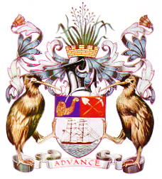 English: Coat of Arms of the City of Auckland,...