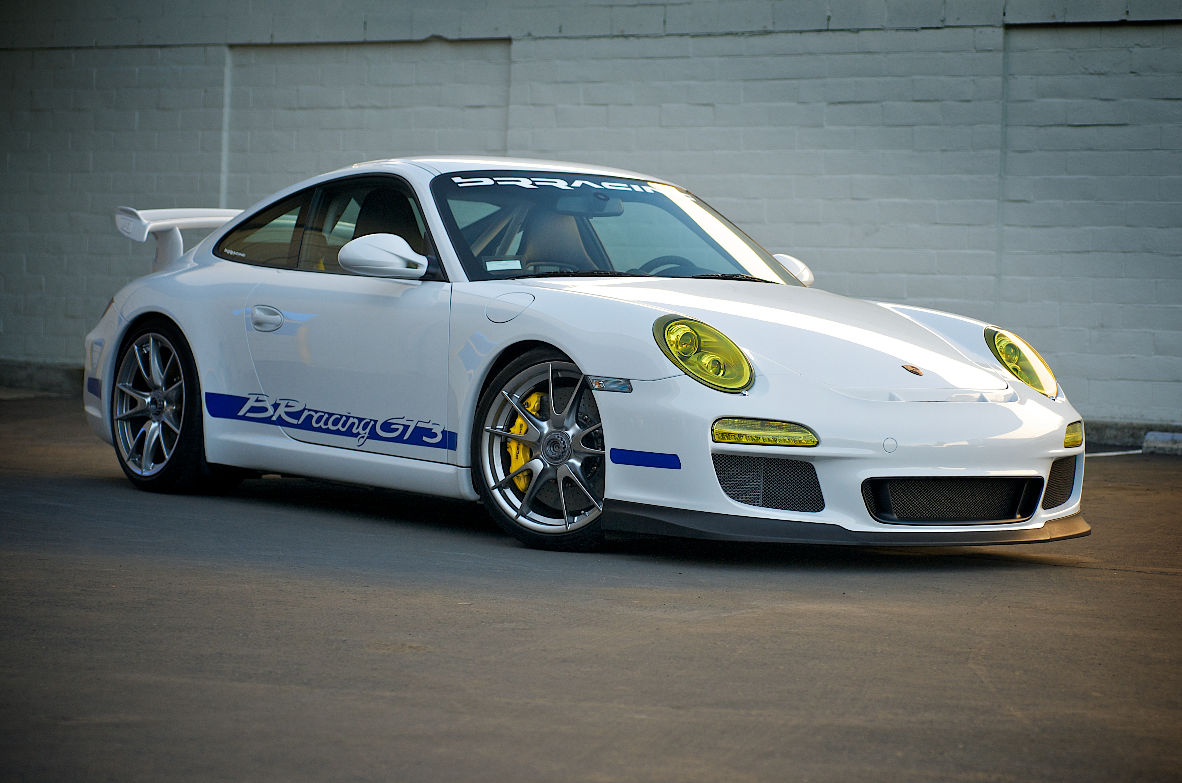File Brracing Porsche 997 Gt3 Front Jpg Wikimedia Commons