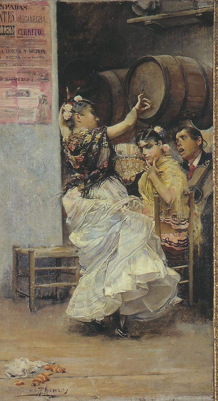 Baile por bulerías, de José García Ramos.