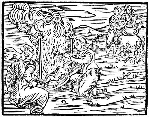 Banchetto sabba compendium maleficarum