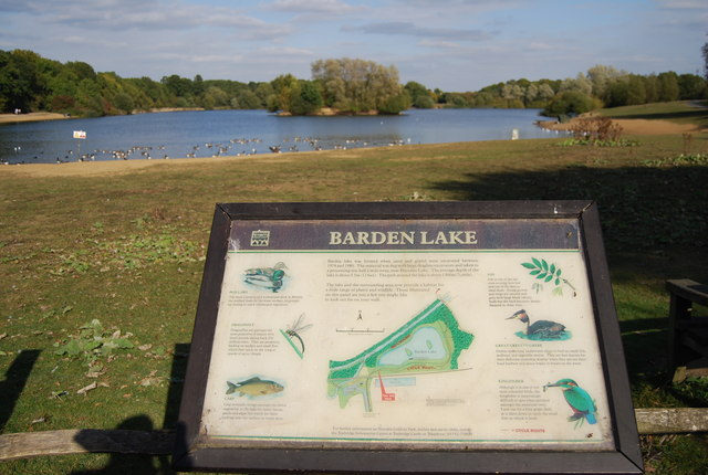Barden Lake - geograph.org.uk - 1527655