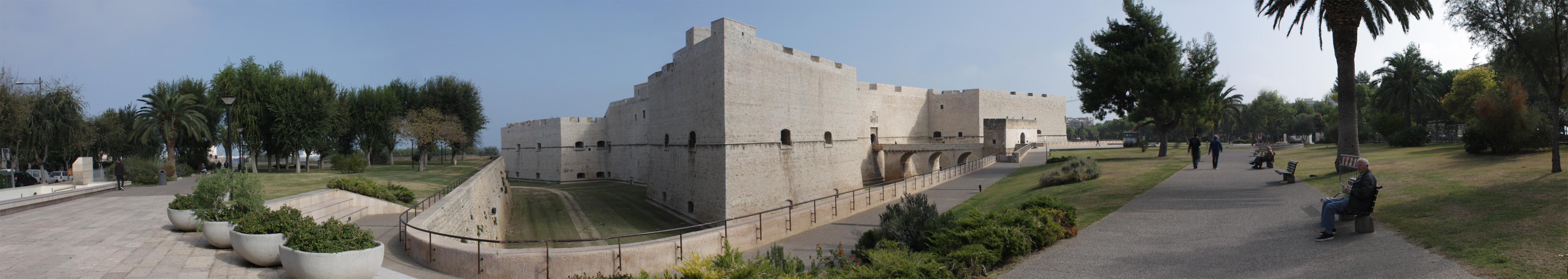 Barletta panoramica del castello
