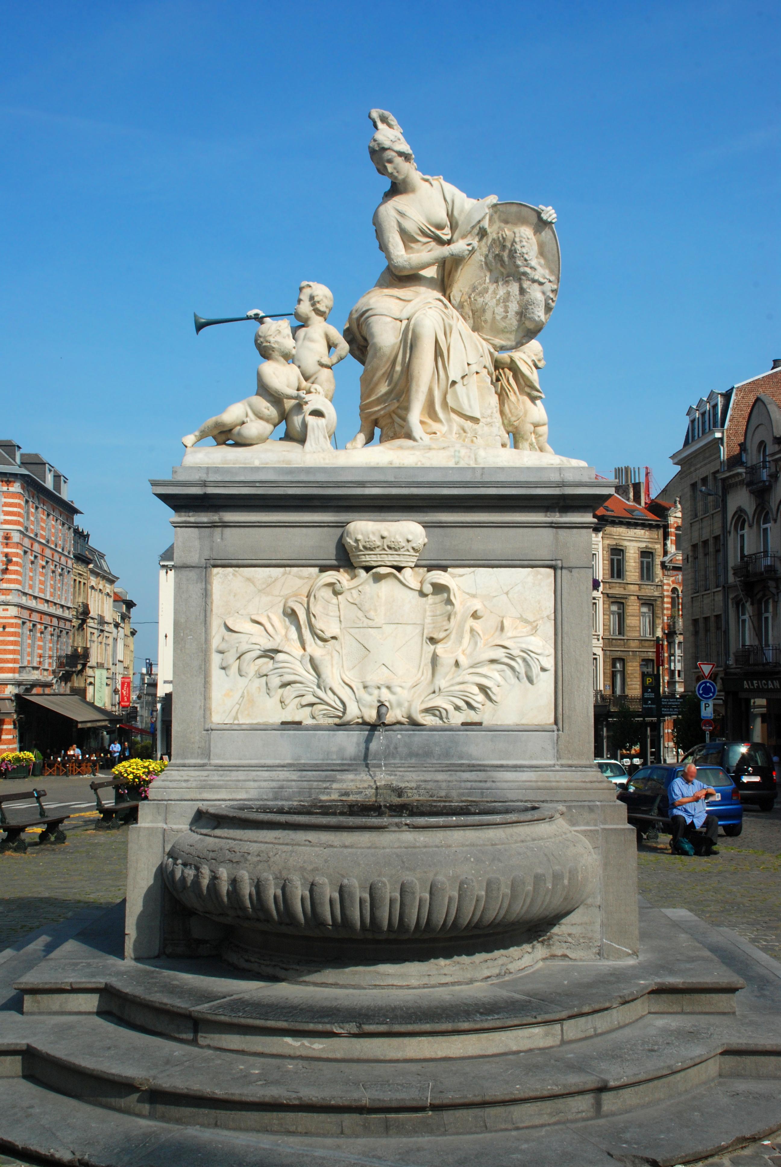 invaincu x prix le plus bas mode attrayante Fontaine de Minerve (Bruxelles) — Wikipédia