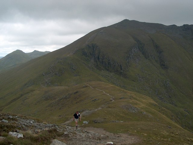 Ben Lawers from Beinn Ghlas - geograph.org.uk - 1635440