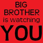 From commons.wikimedia.org/wiki/File:Big_Brother_Is_Watching_You.jpg: Big Brother Is Watching You