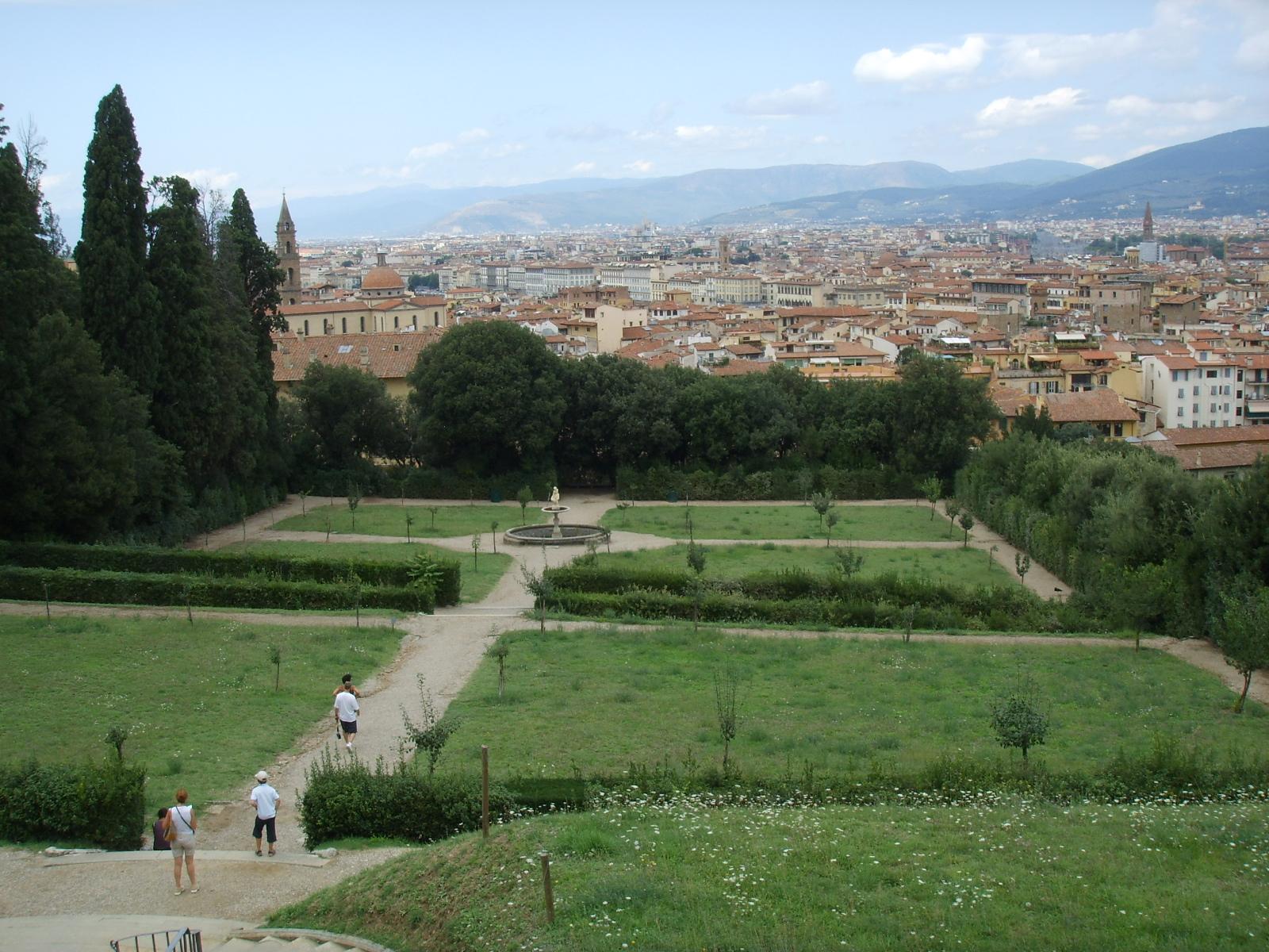 Firenze 8 giardini da visitare assolutamente te la do io firenze - I giardini di boboli ...