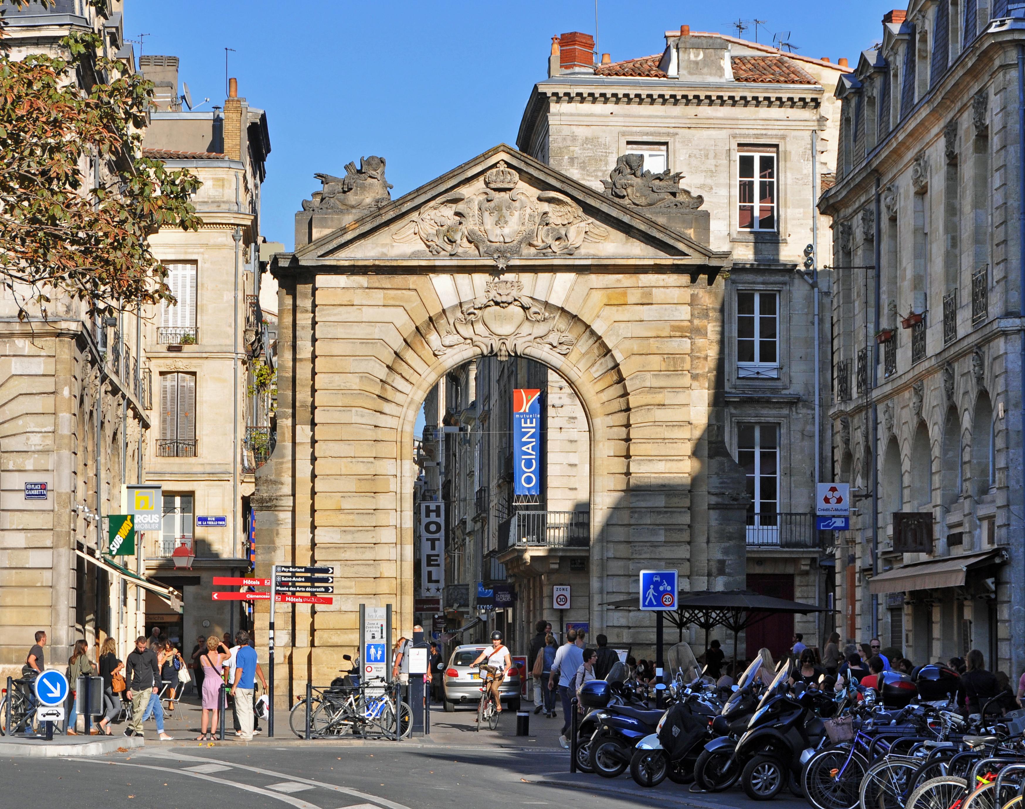 File Bordeaux Porte Dijeaux R01 Jpg Wikimedia Commons