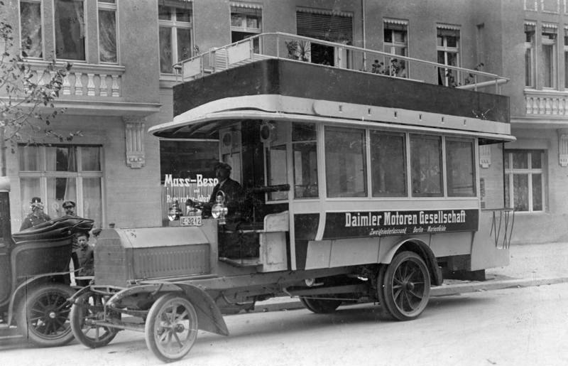 file bundesarchiv bild 183 s50155 berlin daimler doppeldecker wikimedia commons. Black Bedroom Furniture Sets. Home Design Ideas