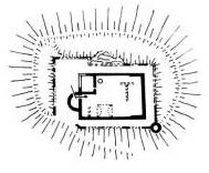 Grundriss der Burganlage