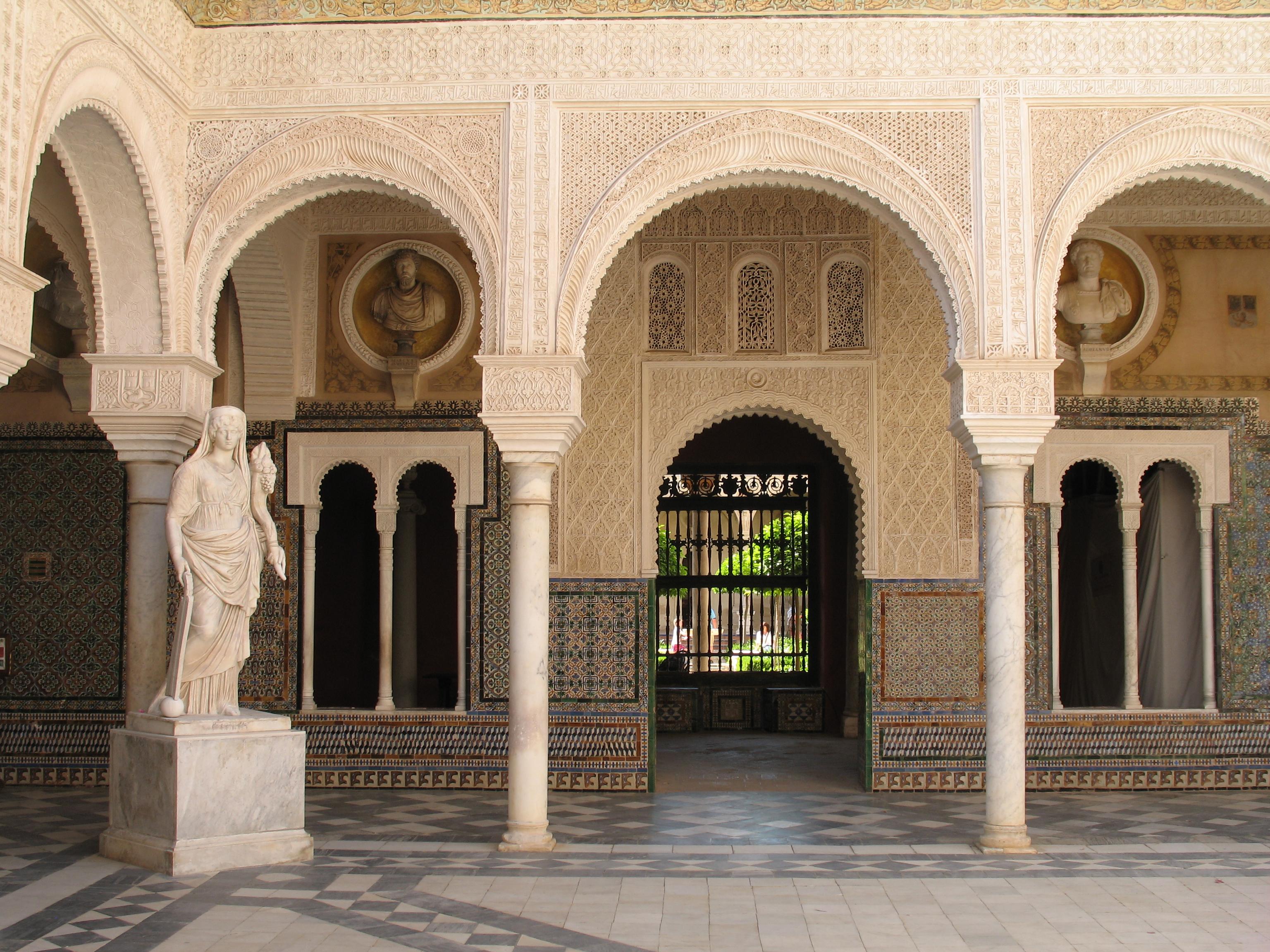 Casa de Pilatos. Detalle del patio..JPG