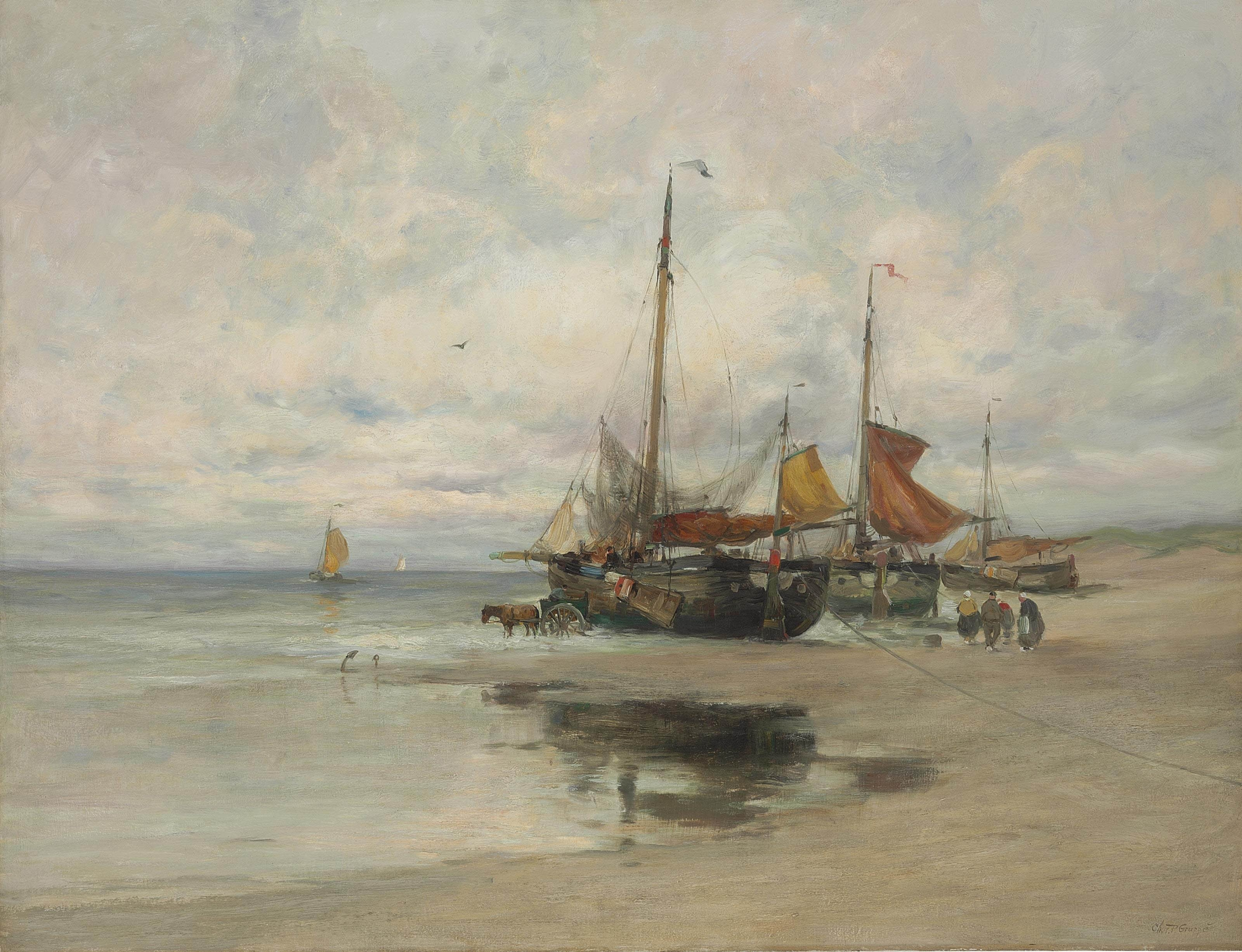 Boats Artist Paintings Olympia Group Health