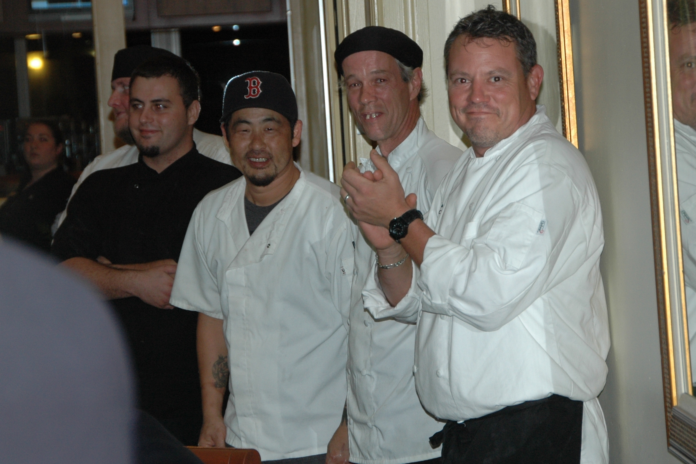 File:Chef David Bauer and Kitchen Staff (16731075020).jpg ...