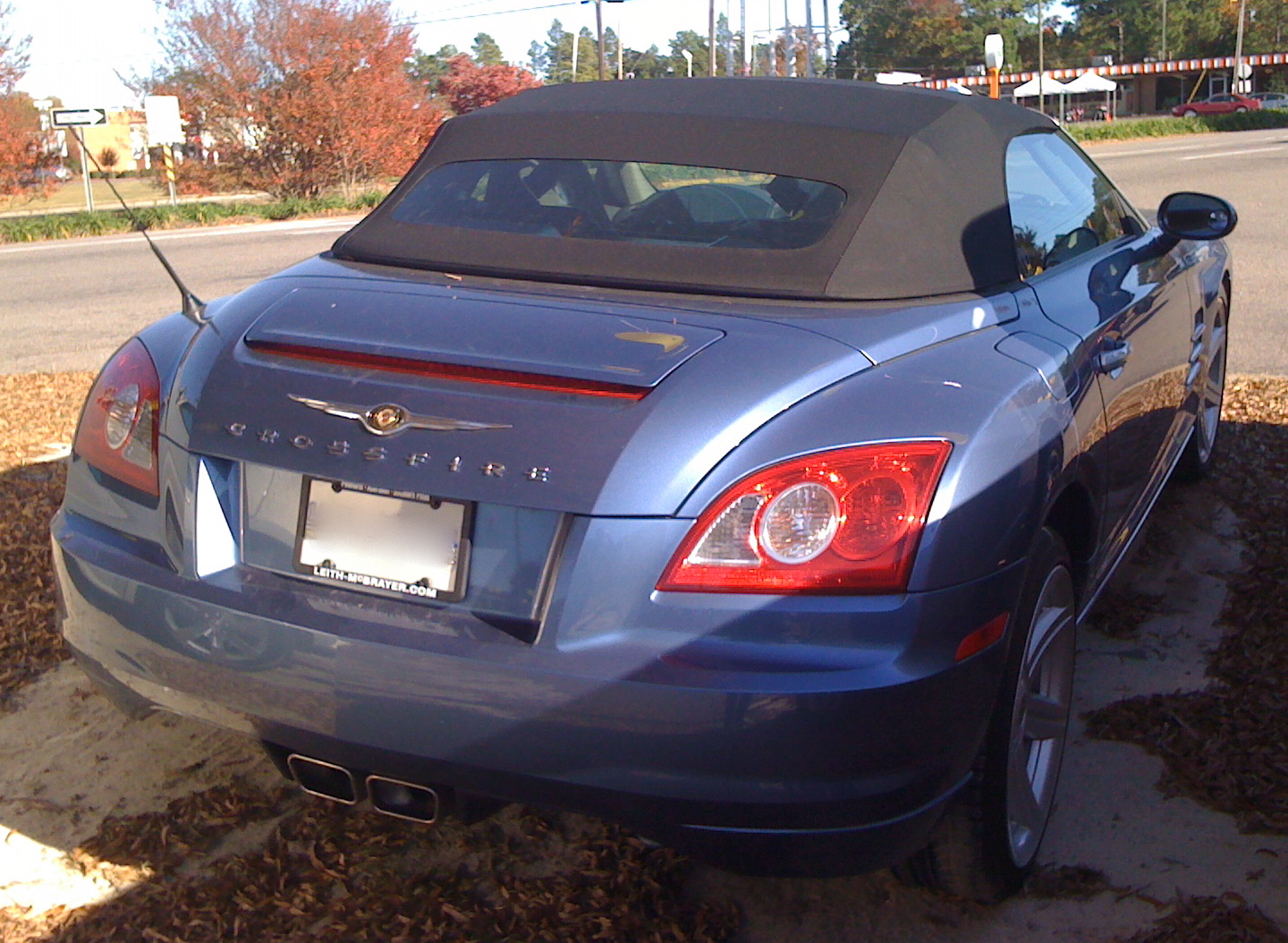 File:Chrysler Crossfire Roadster Blue NC