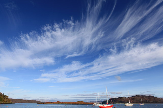 Cirrus or Mares tails - geograph.org.uk - 1591457