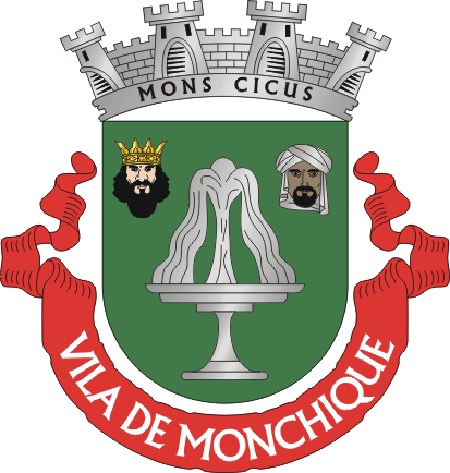 Bestand:Crest of Monchique, Portugal.png