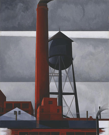 Demuth Charles Chimney and Watertower 1931.jpg