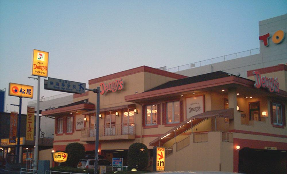 A Denny's in Japan