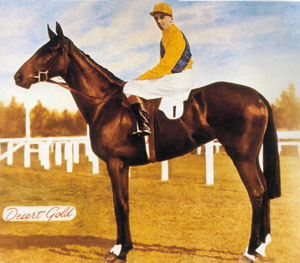 Desert Gold (horse) New Zealand thoroughbred racehorse