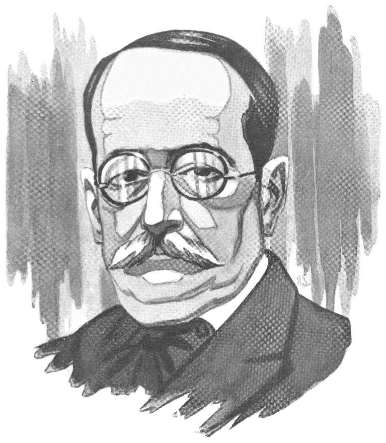 Dibujo de Trelles hecho por Hermenegildo Sábat Lleó.